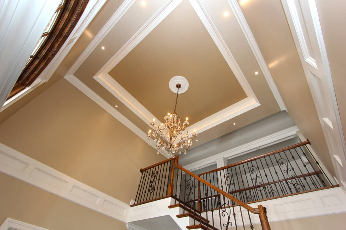 Maddy Grace Estate Staircase and Chandelier