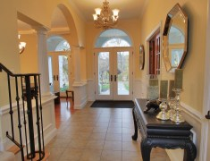 Mediterranean Estate Foyer