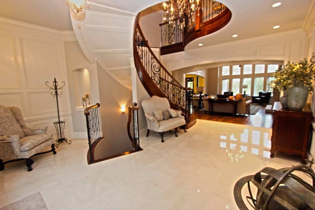 Southridge Estate Staircase view from Foyer