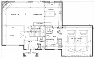 Kelli Model 1st Floor Plan
