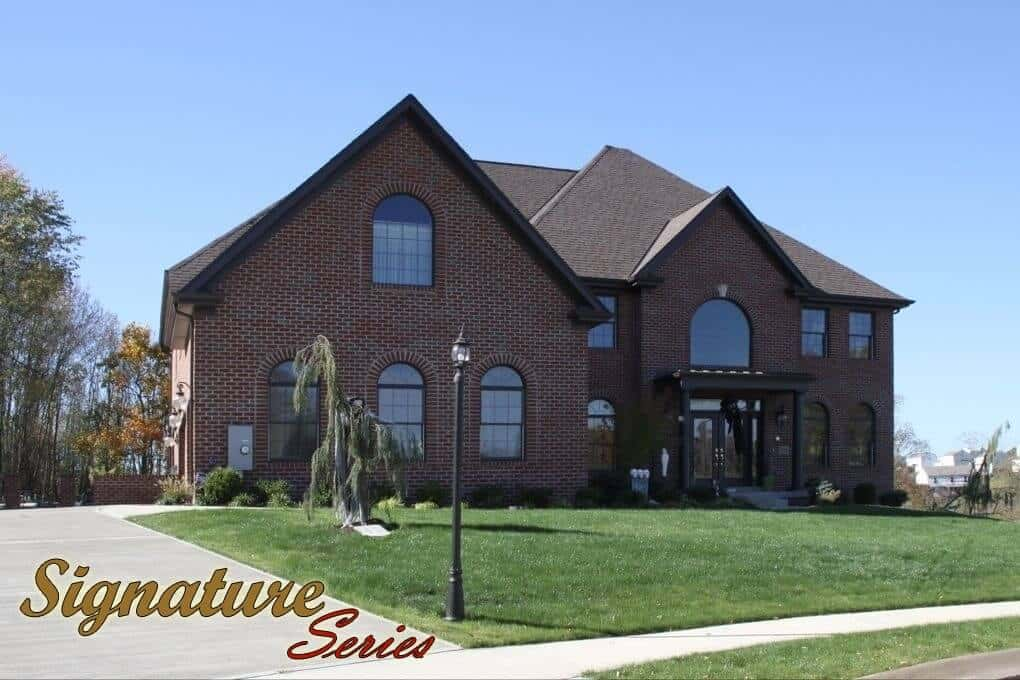 Holly Model Home Front Color with Text Image- Signature Series