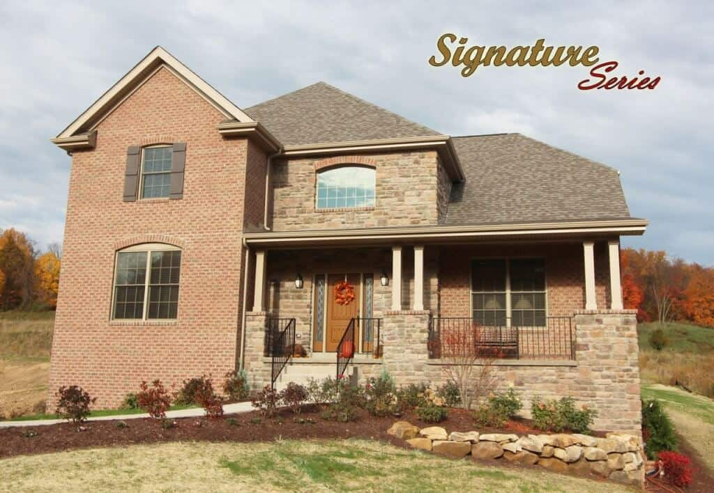 Eean Model Home Front Image with text-Signature Series