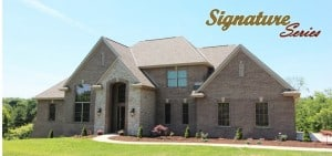 3000 Kathryn Model Home Front Image Color with Text-Signature Series