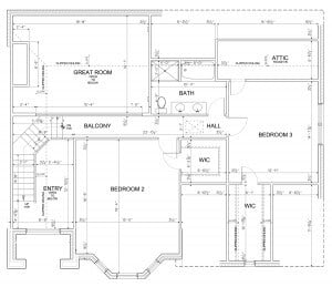 2763 Kitt Model 2nd Floor Plan